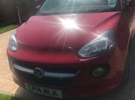 Vauxhall Adam, 2014 (14) Red Hatchback, Manual Petrol, 50,000 miles