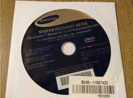 SAMSUNG SYSTEM RECOVERY MEDIA DVD ROM DISC - WINDOWS 7 STARTER SP1 32~BIT - BNIP -