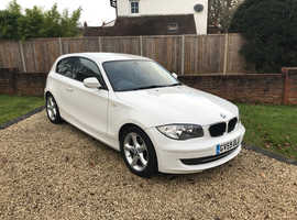 BMW 1 series, 2009 (59) White Hatchback, Manual Diesel, 72,000 miles