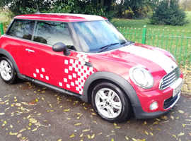 MINI ONE D 2012 REG, LONG MOT, FULL SYTNER MAIN DEALER SERVICE HISTORY, ONE PREVIOUS OWNER & FREE TO TAX