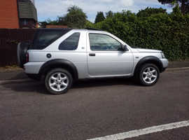 Land Rover Freelander, 2004 (54) Silver Estate, Manual Petrol, 98,000 miles