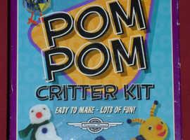 'Pom Pom Critter' Kit (new)