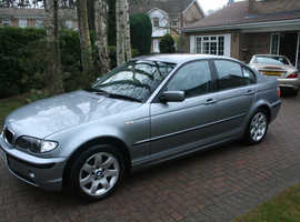 BMW 3 Series, 2004 (04) Grey Saloon, Manual Diesel, 104,000 miles