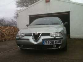 Alfa Romeo 156, 2001 (Y) Green Saloon, Manual Diesel, 95,000 miles
