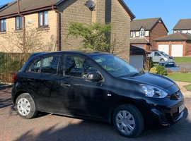 Nissan Micra, 2015 (15) Black Hatchback, Manual Petrol, 43,728 miles