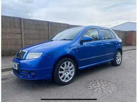 Skoda Fabia, 2007 (07) Blue Hatchback, Manual Diesel, 134,499 miles