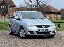 Vauxhall Corsa, 2006 (06) Silver Hatchback, Automatic Petrol, 66,635 miles, NEW 12 MONTH MOT