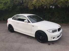 BMW 1 series, 2012 (12) White Coupe, Manual Diesel, 92 miles