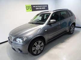 BMW X5, 2012 (62) Grey Estate, Automatic Diesel, 85,000 miles