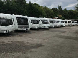 Quality used touring caravans for sale