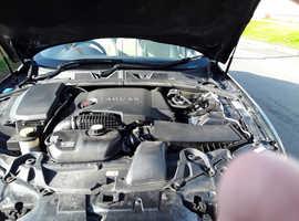 Jaguar Xf, 2010 (60) grey saloon, Automatic Diesel, 82000 miles
