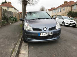 Renault Clio, 2007 (57) Blue Hatchback, Manual Petrol, 76,000 miles