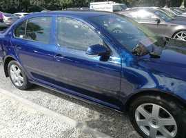 Skoda Octavia, 2007 (07) Blue Hatchback, Automatic Diesel, 75,500 miles