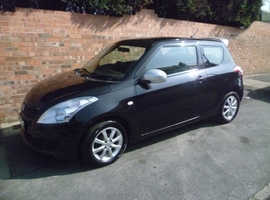 SUZUKI SWIFT SZ2, 2013 REG, FULL HISTORY, 47,000 MILES WITH SAT NAV & £30 TAX