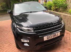 Land Rover Range Rover Evoque, 2011 (61) Black Coupe, Automatic Diesel, 69,800 miles