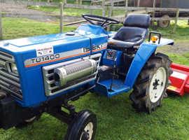 Iseki TU1400 Compact Tractor with 4ft Del Morino Flail -  £3250 ono