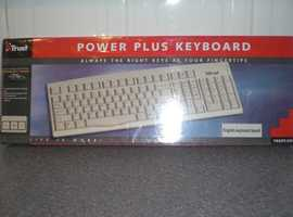 Trust. POWER PLUS KEYBOARD - Brand new and factory sealed