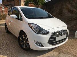 Hyundai Ix20, 2016 (66) White MPV, Automatic Petrol, 7,400 miles