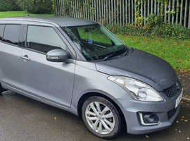 Suzuki Swift, 2015 (15) Grey Hatchback, Manual Petrol, 111,000 miles
