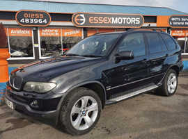 BMW X5, 2005 (55) Black Estate, Automatic Diesel, 11,000 miles