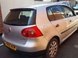Volkswagen Golf, 2005 (05) Silver Hatchback, Manual Petrol, 95,000 miles