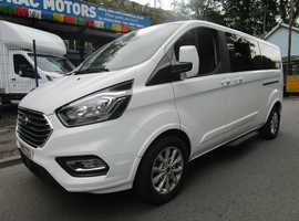 2019 -19 FORD TOURNEO CUSTOM 2.0 TDCI - TITANIUM - 130 - 9 SEATER LUXURY MINI BUS CONFERENCE SEATING