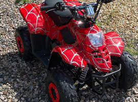 2021 mmx Spyder quads in red or green 125cc semi automatic brand new ideal for gift
