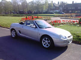 LOW MILAGE AUTO STUNNING  MGF,Semi-auto 2001 (Y) Silver Sports.