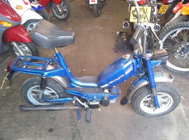 retro moped