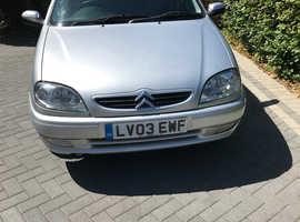 Citroen Saxo, 2003 (03) Silver Hatchback, Manual Petrol, 30,000 miles