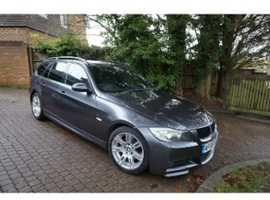 BMW 3 Series, 2008 (08) Grey Estate, Manual Diesel, 120,000 miles