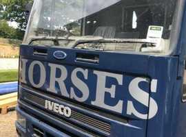 Ford Iveco 7.5t Horse Box