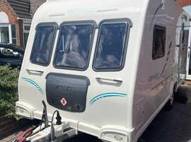 Bailey Olympus 462 2 berth touring caravan