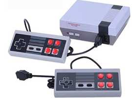 Retro Plug and Play classic NES console similar to Nintendo with built in vintage games