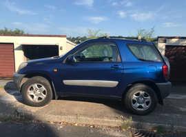 Toyota RAV4 2.0, 2002 (02) Blue 4x4, Manual Petrol, 98,000 miles
