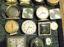 Clockmaker`s Job Lot, Massive Clearance, various clock movements and parts