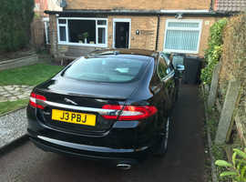 Jaguar Xf, 2012 (12) Black Saloon, Automatic Diesel, 68,000 miles
