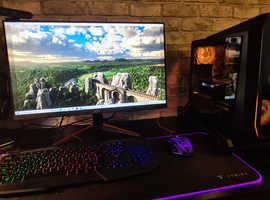 Full gameing pc set up