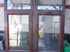 used double glased upvc windows