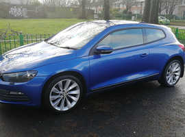 VOLKSWAGEN SCIROCCO TSi 1.4L 6 SPEED, 2010 REG, LONG MOT VERY LOW MILEAGE ONLY 55,000 MILES