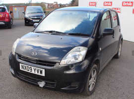 Daihatsu Sirion, 2009 (09) Black Hatchback, Manual Petrol, 97,191 miles