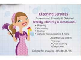 Mobile cleaning services