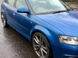 Audi A3, 2010 (59) Blue Hatchback, Manual Diesel, 128,200 miles