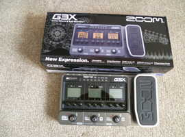 Zoom G3X Multi-Effects Guitar Effect Pedal Processor (Hank Marvin..The Shadows)
