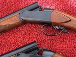 Pair of Baikal single barrel shotguns