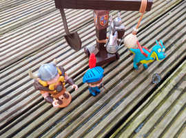 Mike the Knight,toy story,Jake and Neverland pirate figures