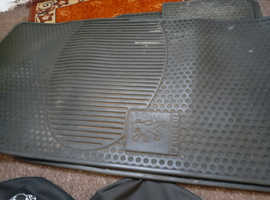 Peugeot  206 head rest covers and car mats