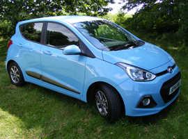 Hyundai i10 Premium, 2014 (14) 5 Door Hatchback, Manual 1.0L Petrol, 52,400 miles FSH