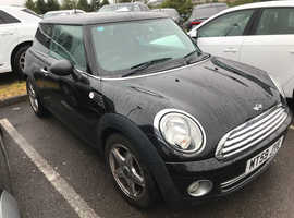 Mini MINI, 2010 (59) Black Hatchback, Manual Petrol, 92,000 miles