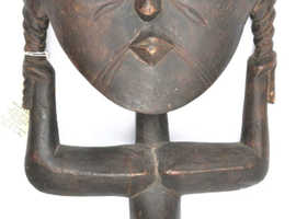 Large African Tribal Figure wood carving